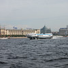 Saint Petersburg from the waterways.