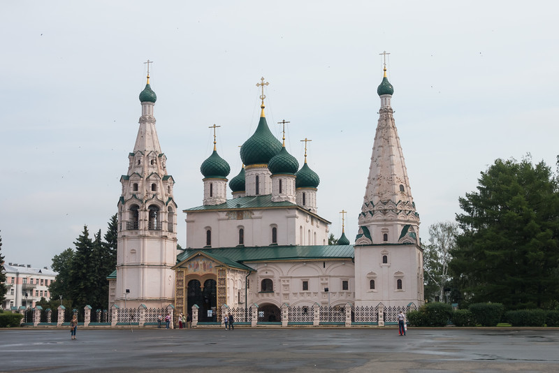 Church of Saint Elijah the Prophet in Yaroslavl, Russia.