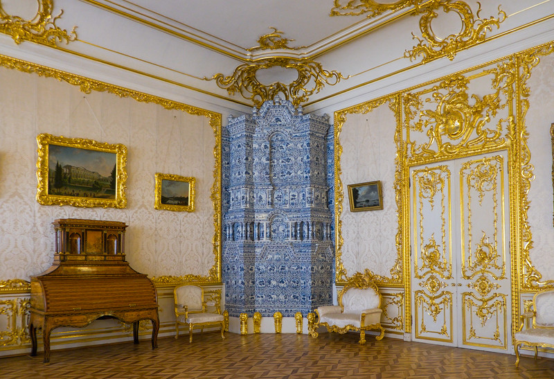 One of many studies in Catherine Palace.