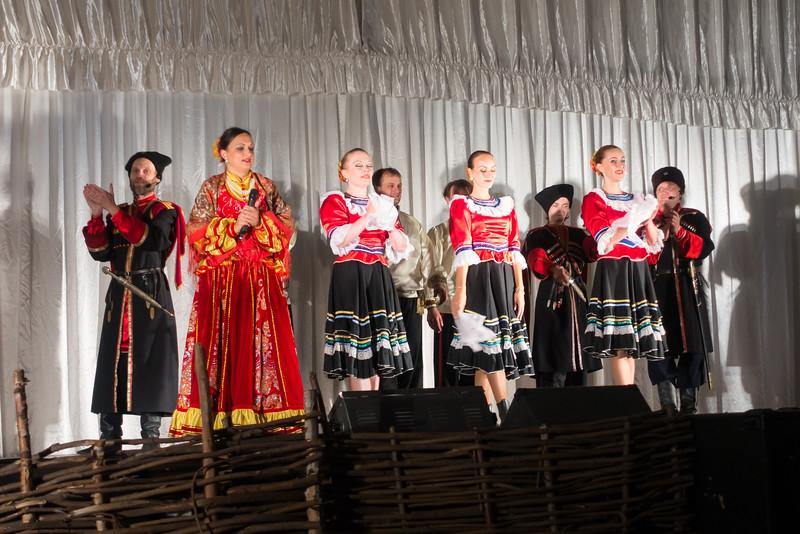 An evening of Cossack Folks Dancing.