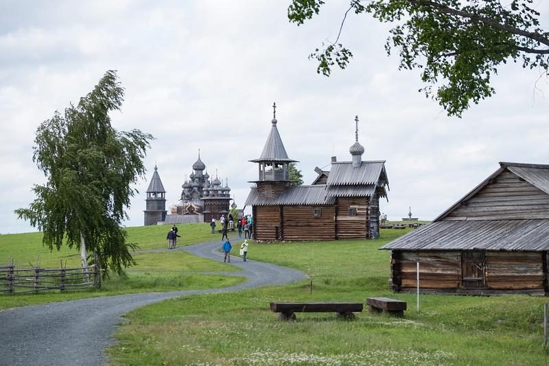 Kizhi Island, Russia.