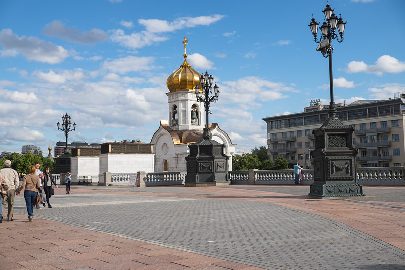 Grounds of Christ the Savior Cathedral.