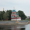 Waterfront church in Uglich, Russia