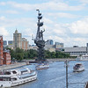 Peter the Great Statue in Moscow.