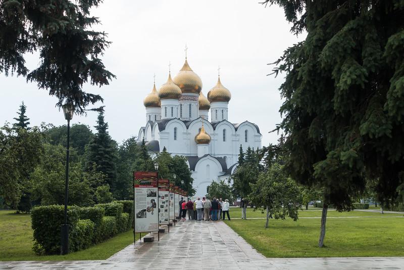 Church in Yaroslavl, Russia.