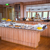 A lighter breakfast is available in the Panorama Bar.
