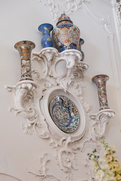 Wall decorations in Catherine Palace.
