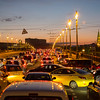 Say hello to Moscow traffic.