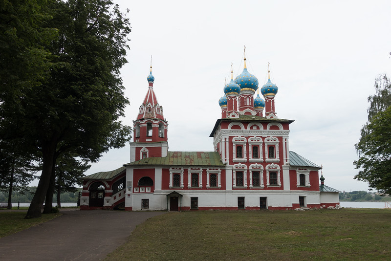 Another church in Uglich, Russia.