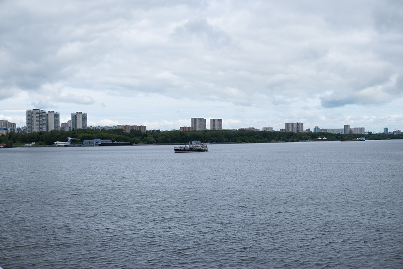 Moscow across the Volga River.