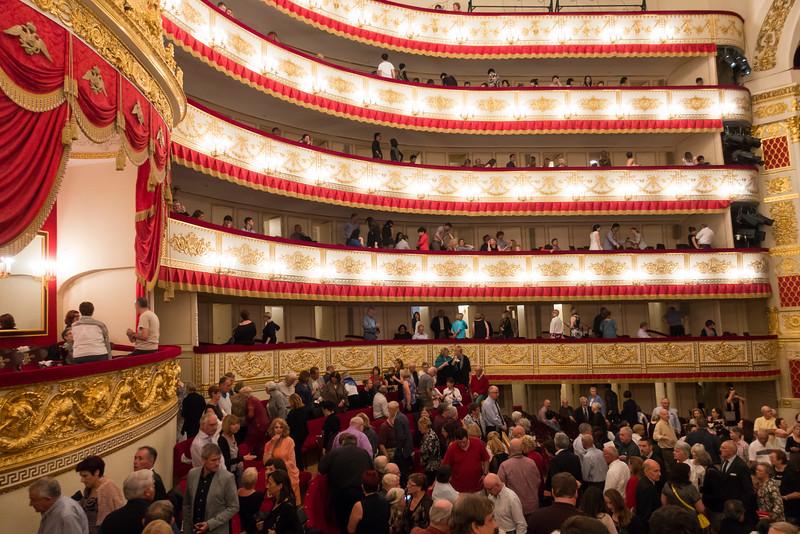 The Bolshoi Ballet in Saint Petersburg, Russia.