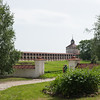 The Kirillo-Belozersky Monestary in Kuzino, Russia. Housing for more than a thousand monks.