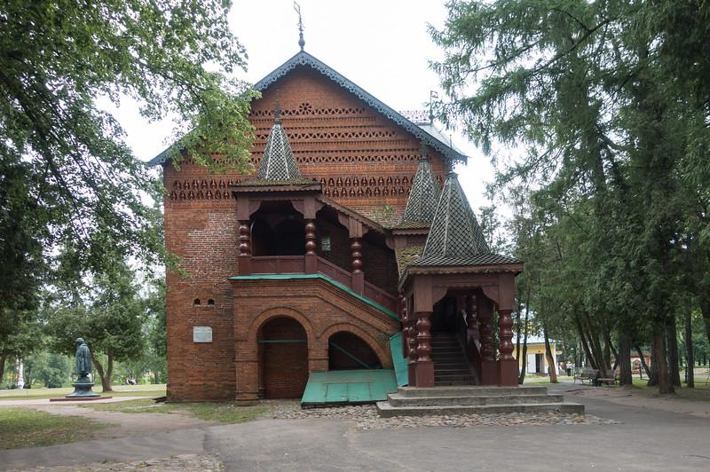 Historic building in Uglich, Russia.