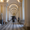 A corridor in the Hermitage Museum, Saint Petersburg, Russia.