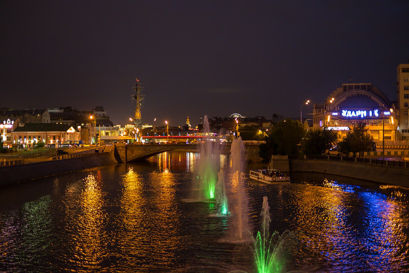 Sights along the Moscow Waterways.