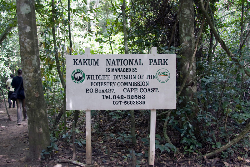 Kakum National Park has one of the worlds longest canopy walks.
