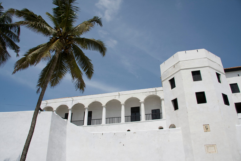 Cape Coast Castle - where slavery for West Coast Africans started.  This is a very historical and meaningful place for slave history.