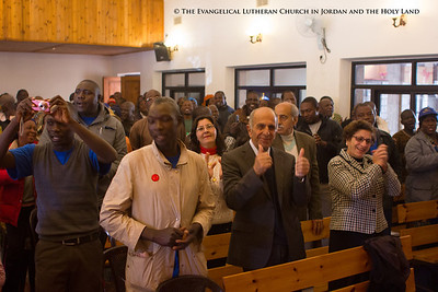 Nigerian Lutherans Visit the Evangelical Lutheran Church in Beit Sahour