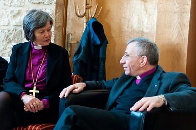 Visit of Church of Norway Presiding Bishop Helga Haugland Byfuglien and Delegation