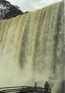 Маленькая часть водопада Iguassu