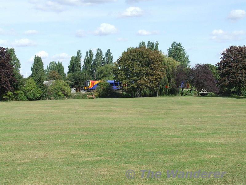 Where the interest in railways all began: Kneller Gardens, Twickenham. Tues 18.09.07