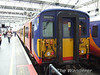 No. 5914 is seen at Waterloo after arriving from Winsdor & Eton Riverside. Sat 31.05.08