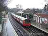 51527 at West Finchley with a High Barnet Service. Sat 13.12.08