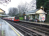 51720 arrives at West Finchley with a Kennington via Charing Cross service. Sat 13.12.08