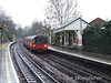 51529 at West Finchley with a High Barnet service. Sat 13.12.08