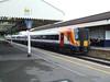 444020 at Wareham with a London Waterloo service. Fri 09.05.08