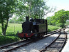 The loco runs around its train at Smallbrook Junction. Sun 11.05.08