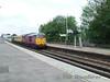 A pair of 31's pass through Basinstoke on a NR test train. Fri 09.05.08