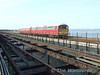 483009 rumbles along Ryde Pier. Sun 11.05.08