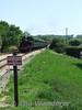 War Department Steam loco arrives at Wooton. Sun 11.05.08