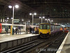 Evening Commuters pack onto 150142 at Manchester. Fri 25.01.08