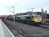 66620 at Crewe on a southbound Coal service. Fri 25.01.08