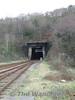 The impressive tunnel entrance to Bangor Tunnel. Fri 25.01.08.