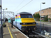 82121 at Colchester with the 1130 Liverpool St - Norwich. Sat 26.01.08