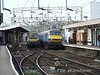 82105 and 170203 pass in Colchester. Sat 26.01.08