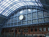 The Replica Clock at St. Pancras. Sat 26.01.08