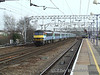 90002 brings up he rear of a Norwich service as a 321 arrives on the Colchester Town shuttle. Sat 26.01.08