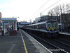 319367 leads a sister unit at West Hampstead Thameslink with a Bedford service. Sat 26.01.08