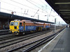 Grant Rail Tamper passes Northbound at Doncaster. Sun 27.01.08