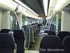 Interior of a class 395 unit. Wed 01.07.09