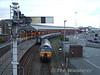 57315 runs around its train at Holyhead. Thurs 21.05.09