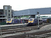43192 and 43137 at Bristol Temple Meads. Fri 22.05.09
