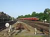 Class 455/7 No. 5723 arrives at Richmond with a Waterloo - Waterloo via Kingston service. Sun 24.05.09