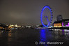 The South Bank and the London Eye. The walk from Waterloo to Westminster is one of my favourite in London. Sat 20.11.10