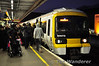 466016 heads for Charing Cross at London Bridge. Sat 20.11.10