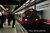 A Piccadilly Line train led by car 112 bound for Cockfosters arrives at Heathrow 123. Sat 20.11.10